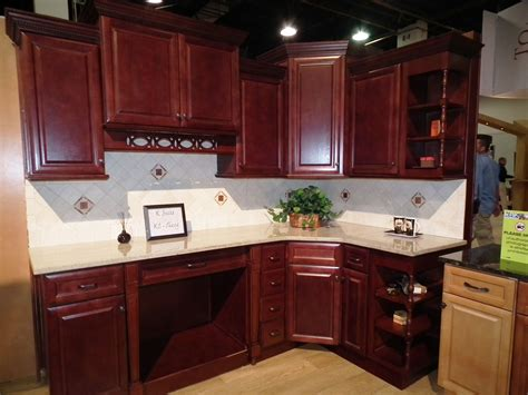 cherry kitchen cabinets kitchen cherry cabinets all wood raised panel birch