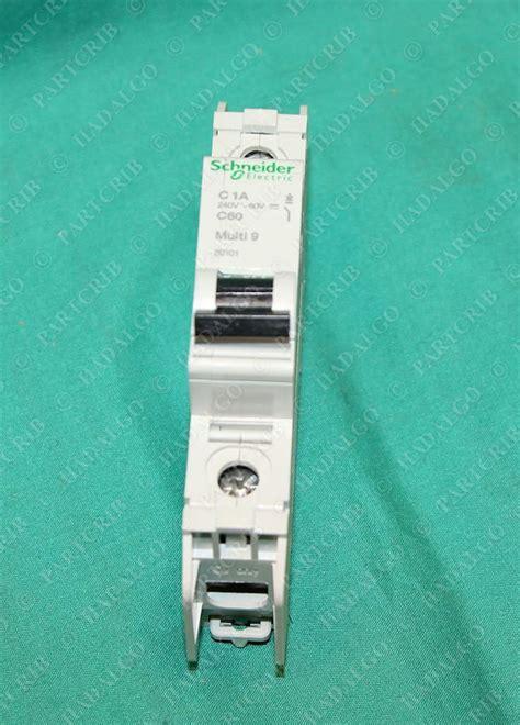 Mcb Mini Circuit Breaker 1p 25ere Schneider schneider 60101 multi 9 c60 miniature circuit breaker merlin gerin 1a 1 1p ebay