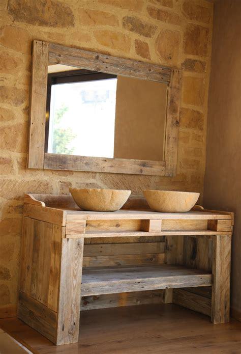 Kitchen Cabinet Frame by Meubles De Salle De Bains Avec Palette En Bois Recyclage Avec