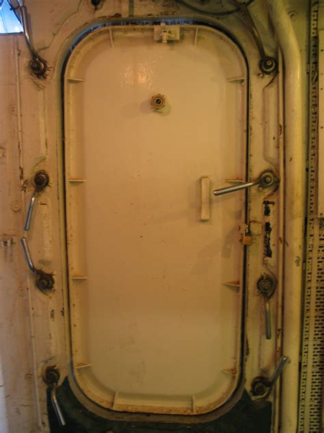 Doors Ship by Image After Photos Iain Submarine Naval Ship Door Iron Heavy Solid Rivets Handle