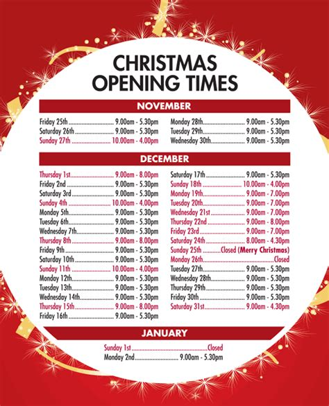 christmas opening hours 2016 harveys of halifax