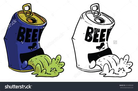 beer can cartoon beer cans clipart 73
