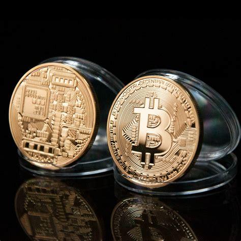 aliexpress bitcoin gold plated bronze physical bitcoins 1 of each casascius