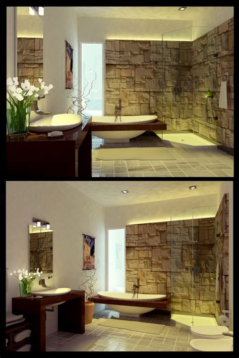 Unique Decorating Ideas For Bathroom Unique Modern Bathroom Decorating Ideas Designs