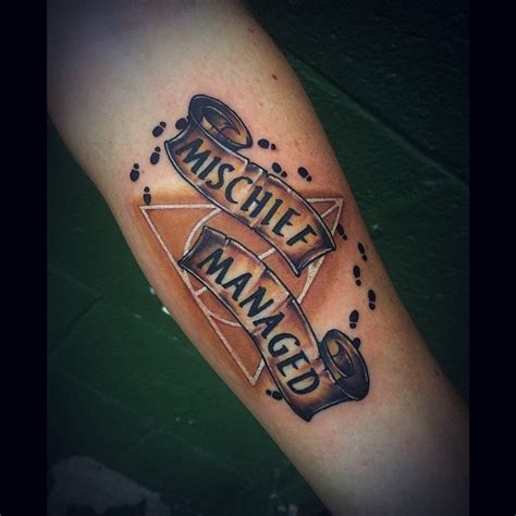 i solemnly swear tattoo magical harry potter tattoos artists