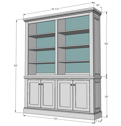 Kitchen Hutch Designs White Shanty Hutch Diy Projects