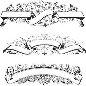 40 scroll ribbon tattoo designs and images