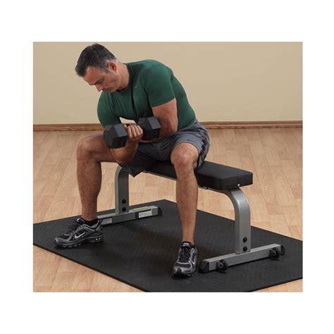 Banc Plat Musculation by Banc Plat Et Compact Gfb350 Solid