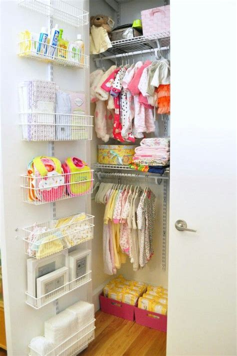 how to organize nursery closet 35 yet practical nursery organization ideas digsdigs