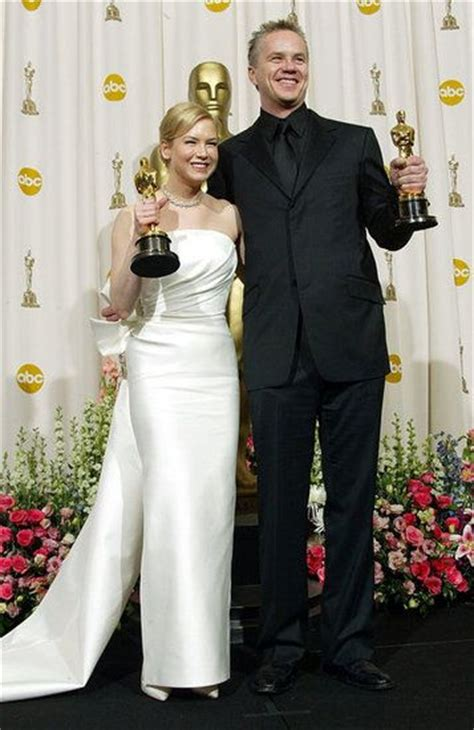 2003 academy award for best actress black and white affair celebrity tim o brien and
