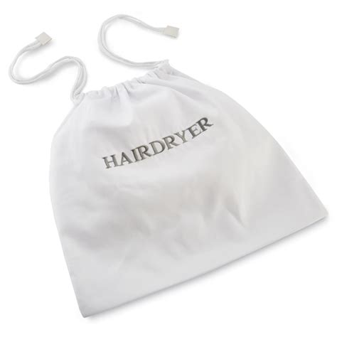Hair Dryer Bag White white hairdryer bags hotel hairdryer bag