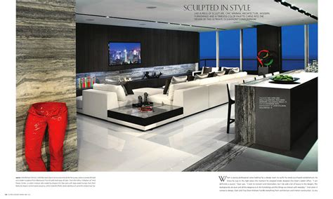 florida design s miami home and decor magazine troy dean interiors hollywood trump condo featured in