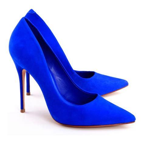 Of The Blues Shoes by Tem Que Ter Scarpin Azul Escolha A Sua Preferencia
