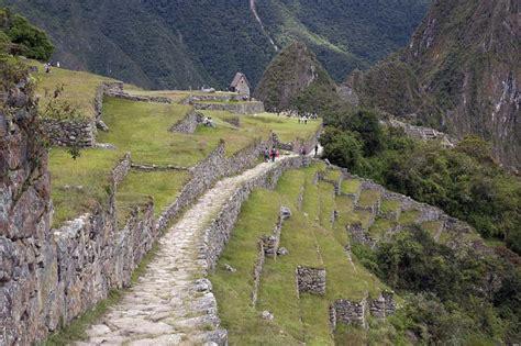 camino inca camino inca ruta hacia la ciudad inca de machu picchu