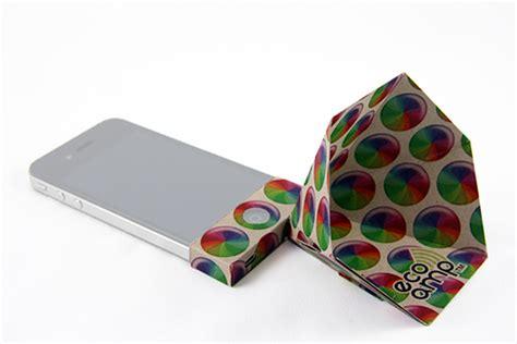 eco amp    cost iphone speaker   recycled materials inhabitat green design