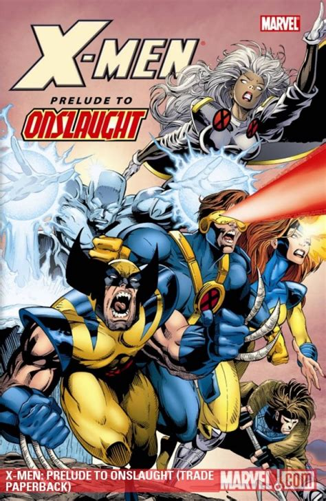 X Age Of Apocalypse Prelude Tp Marvel Comics prelude to onslaught tp