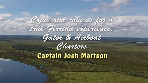 airboat and gator charters airboat and gator charters youtube