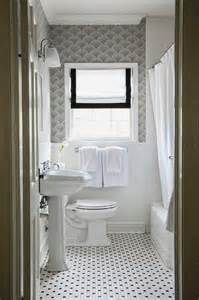black and white guest bathroom transitional bathroom
