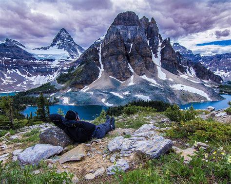 mount assiniboine provincial park lake magog  mount