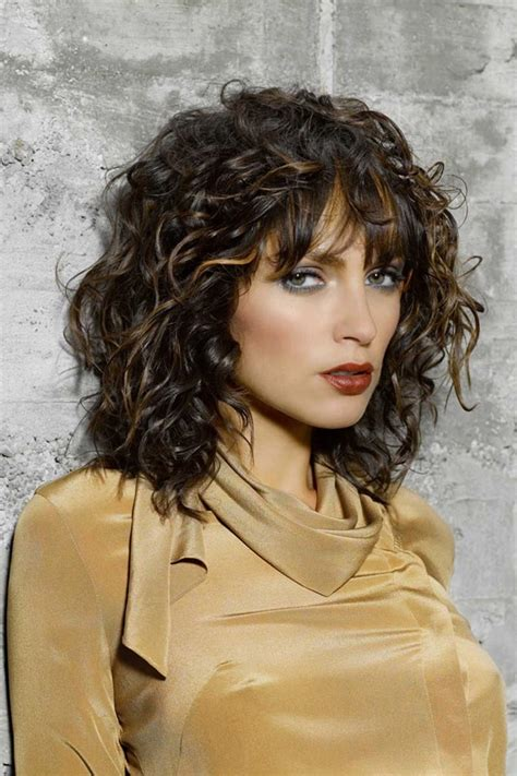haircuts for curly hair images curly hairstyles with bangs for 2017 new haircuts to try