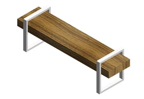 gus modern return bench revitcity com object gus modern return bench