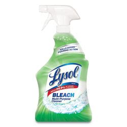reckitt benckiser lysol  purpose cleaner  bleach  oz trigger bottle rec