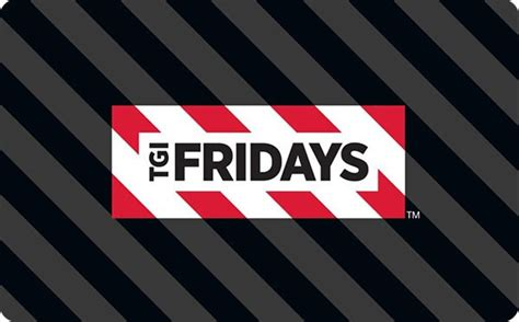 Tgi Fridays Gift Card - tgi friday s gift card