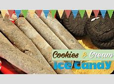 COOKIES AND CREAM FILIPINO ICE CANDY (Popsicle) | It's ... Now And Later Candy Flavors