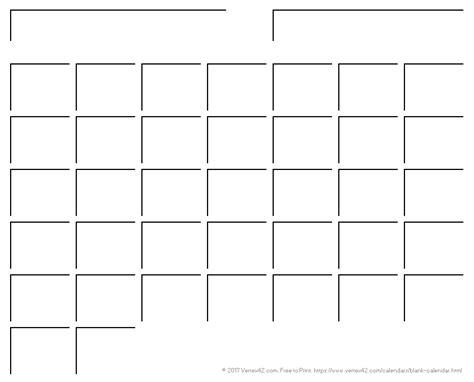 blank calendar template to print blank calendar template free printable blank calendars