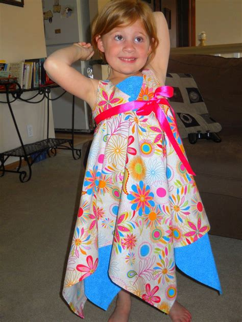 pattern handkerchief dress handkerchief dress made by amy monaghan using my
