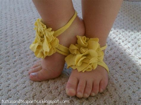 toddler barefoot sandals diy