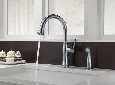Delta 4297 AR DST Cassidy Single Handle Kitchen Faucet