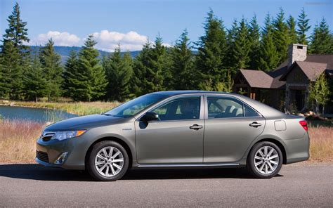 2012 Toyota Camry Hybrid Mpg Toyota Camry Hybrid 2012 Widescreen Car Pictures