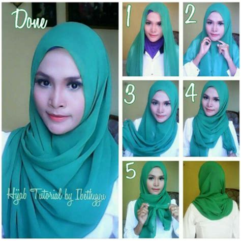 tutorial hijab pashmina graduation tutorial hijab pashmina daily