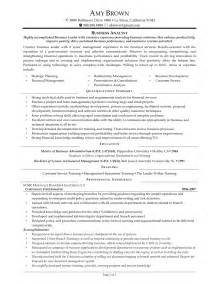 the best business analyst resume sample recentresumes com