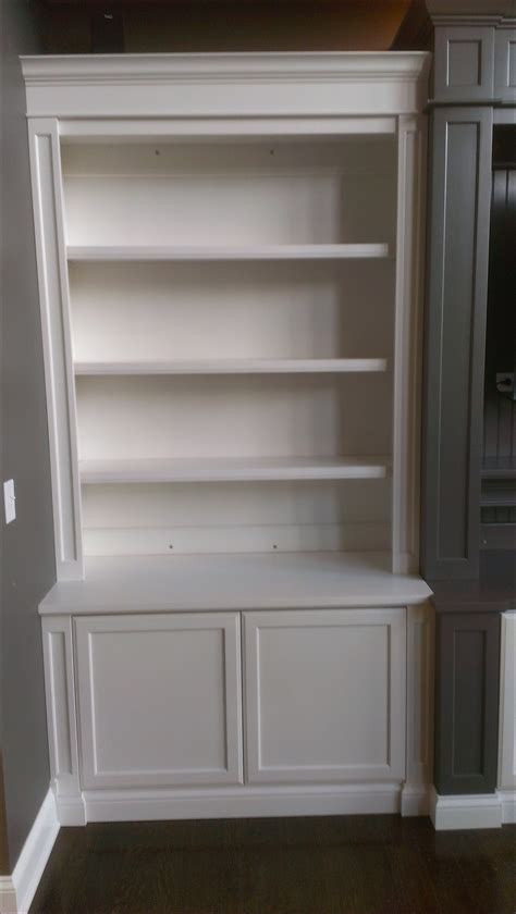 white bookshelf with cabinet 15 photo of bookcase with cabinet base