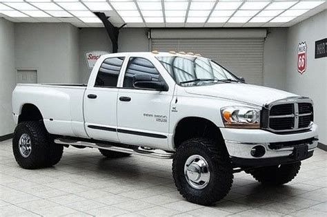 sell   dodge ram  diesel  dually lifted