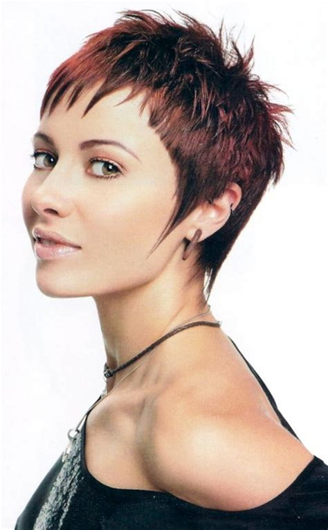 very short spikey hairstyles for women very short cropped hairstyles for women