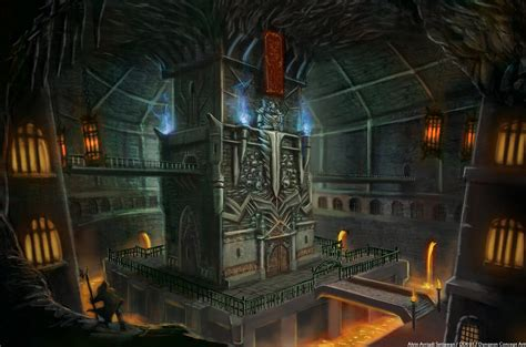 Kaos 3d Hobbit King Cobra an underground prison dungeon meant to keep and