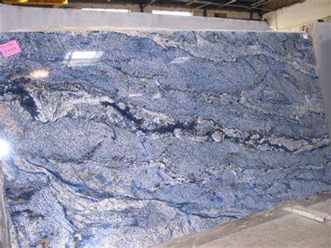 blue granite countertops