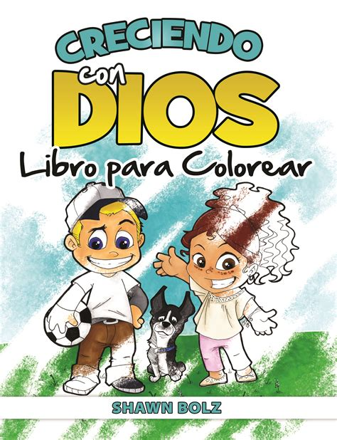 libro growing up gods way creciendo con dios libro para colorear growing up with god coloring book spanish bolz