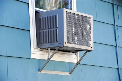 big window unit air conditioner can window ac units affect siding big brush painting