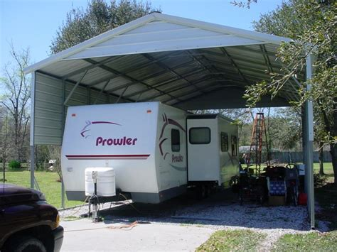 metal rv carports tx motor home covers tx
