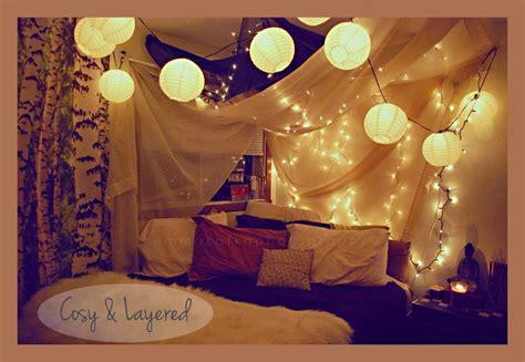 Cute Pinterest Fairy Lights Pretty Bedroom Lights