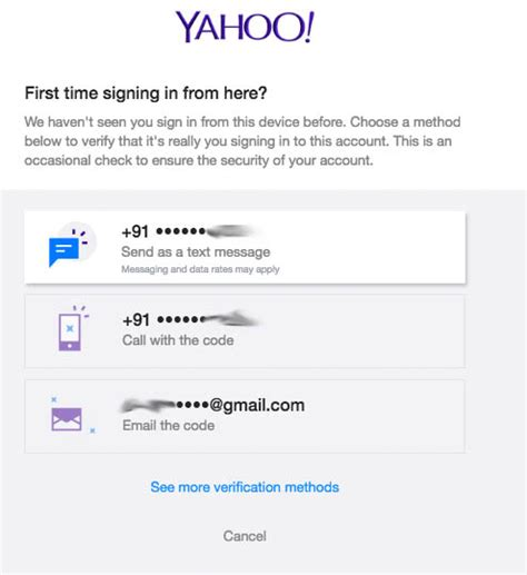 yahoo email verification code not received secure yahoo mail with two step verification deepak keswani
