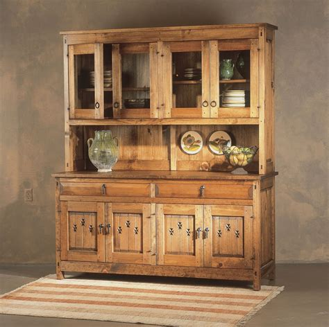 Hutch Kitchen Furniture Kitchen Kitchen Hutch Cabinets Antique Hutch With Glass Doors Narrow Buffet Table