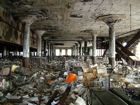 Detroit School Records The Abandoned Detroit Schools Book Depository Detroit Michigan Usa