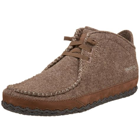 patagonia mens larry wool casual shoe in brown for