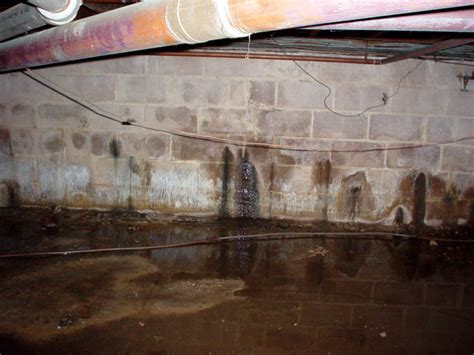moisture humidity in the crawl space
