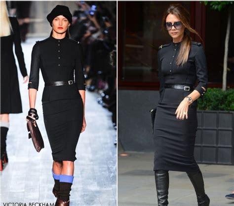 celebrity style knockoffs fall dress victoria beckham long sleeve dress long